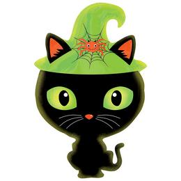 Black Kitty - Fekete Cica Junior Shape Fólia Lufi