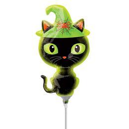 Black Kitty - Fekete Cica Mini Shape Fólia Lufi