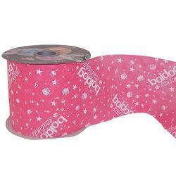 Boldog Szülinapot Feliratú Pink Szülinapi Dekorációs Szalag, 12,5 cm, 50 méteres