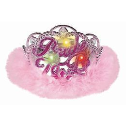 Bride to Be Világító Rózsaszín Parti Tiara Lánybúcsúra