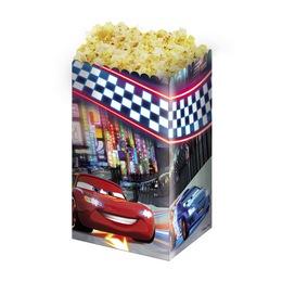 Cars Neon - Verdák Popcorn Kosár - 4 db-os