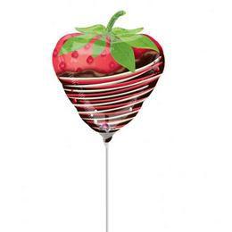 Chocolate Dipped Strawberry Mini Shape Fólia Lufi
