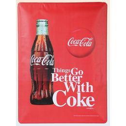 Coca-Cola Fémtábla - Álló