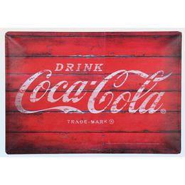 Coca-Cola Fémtábla - Fekvő