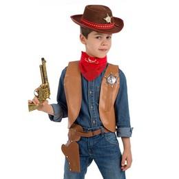 Cowboy Jelmez Kiegészítő Szett