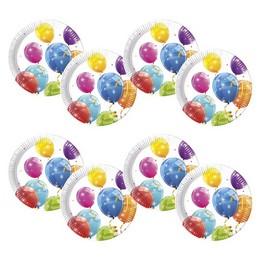 Csillogó Lufis Tányér - Sparkling Balloons