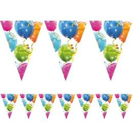 Csillogó Lufis Zászlófüzér - Sparkling Balloons