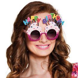 Csillogó Muffin Szülinapi Party Szemüveg