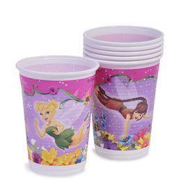 Csingiling - Fairies Springtime Parti Pohár - 200 ml, 10 db-os