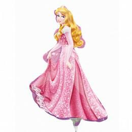 Csipkerózsika - Disney Princess Sleeping Beauty - Mini Shape Fólia Lufi Pálcán