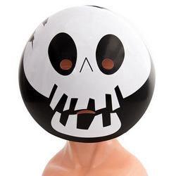 Csontváz Emoji Maszk Halloween-ra
