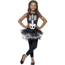 Csontváz Tütü Jelmez Gyerekeknek