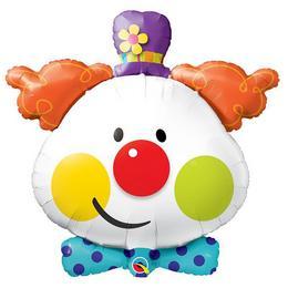 36 inch-es Cuki Bohóc - Cute Clown Fólia Lufi
