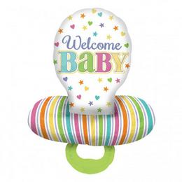 29 inch-es Welcome Baby Cumi Super Shape Fólia Lufi