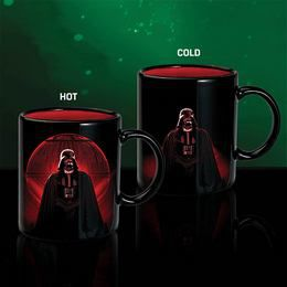 Darth Vader Nagyúr Hőre Változó Kerámia Bögre