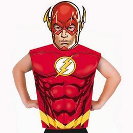 DC Comic - Flash Jelmez Kiegészítő Szett, 3-6 Éveseknek