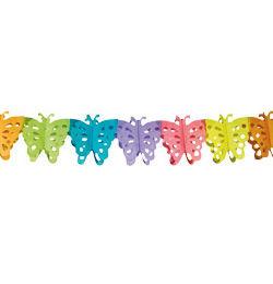 Pillangós Dekorációs Papír Füzér