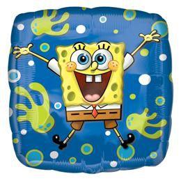 18 inch-es Spongyabob Kockanadrág - Spongebob Joy Héliumos Fólia Lufi