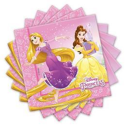 Hercegnők - Princess Heart Strong Parti Szalvéta - 33 cm x 33 cm, 20 db-os