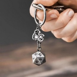Dungeons & Dragons D20 Kulcstartó