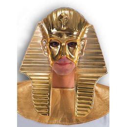 Egyiptomi Fáraó Fejdísz Maszk