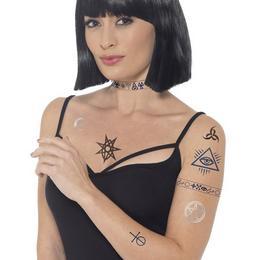 Egyiptomi Szimbólumok Mintás Tetoválás