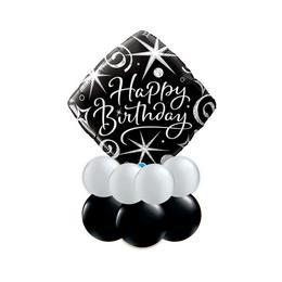 Elegáns születésnap - Asztali lufidísz