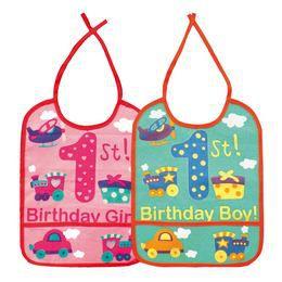 Első Szülinapi Pártedli Kisfiúknak - Birthday Boy Felirattal