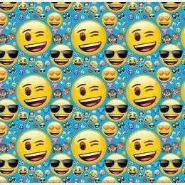 Emoji Parti Csomagolópapír - 150 cm x 76 cm