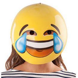 Emoji Sírva Nevetős Maszk