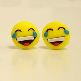 Emoji Pont Fülbevaló - Sírvanevető