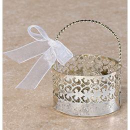 Ezüst Esküvői Ajándékkosár