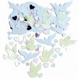 Esküvői Galambok és Szívek Konfetti, 14 gramm