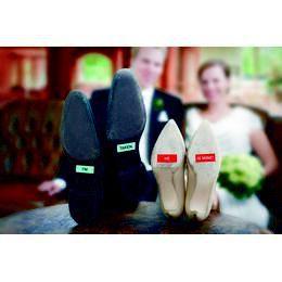 Esküvői Talpmatricák