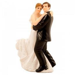 Esküvői Tortadísz - Táncoló Ifjú Pár