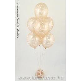 Sok Boldogságot Esküvői Ajándék és Dekoráció - Léggömb Kompozíció