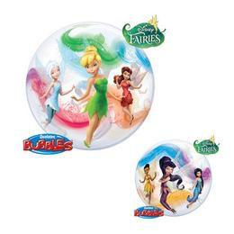 22 inch-es Disney Bubbles Fairies Héliumos Lufi