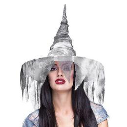 Fátyol-hálós Boszorkány Kalap