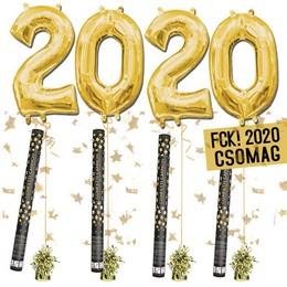 FCK! 2020 Szilveszteri Héliumos Csomag - Arany