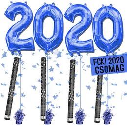 FCK! 2020 Szilveszteri Héliumos Csomag - Kék