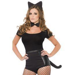 Fekete Cica Szett