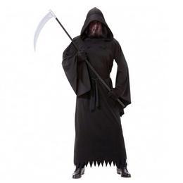 Fekete Fantom Jelmez Halloween-re, XXL-es