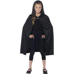 Fekete Kapucnis Köpeny Gyerekeknek