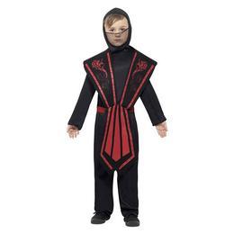 Fekete Ninja Jelmez Gyermekeknek, M-es