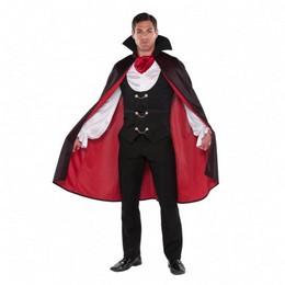 Fekete Piros Vámpír Jelmez Halloween-re, M-es