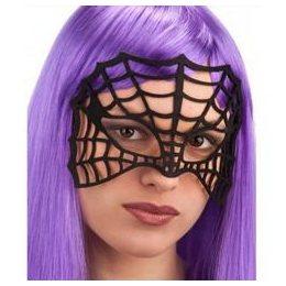 Fekete Pókháló Női Szemmaszk Halloween-ra