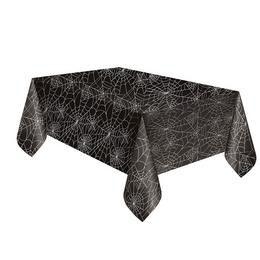 Fekete Pókháló Mintás Asztalterítő