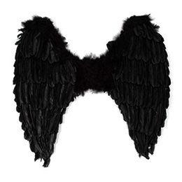 Fekete Angyalszárny - 65 x 65 cm