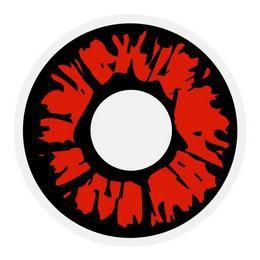 Fekete Véres Kontaktlencse - 1 napos