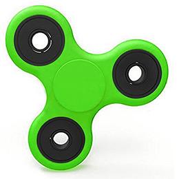 Fidget Spinner Ujjpörgettyű - zöld